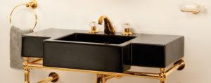 Раковины Cristal et Bronze из керамики