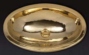 Раковины Cristal et Bronze из металла.